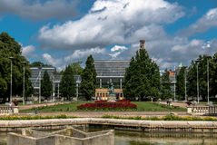 Parc Wilson Kasprzaka de Pozna Images libres de droits