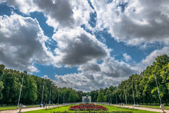 Parc Wilson Kasprzaka de Pozna photo libre de droits