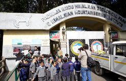 Parc zoologique, Darjeeling, Inde Images stock