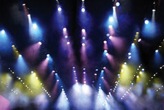 Parcan theatrical lights Royalty Free Stock Images