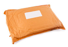 The parcel Royalty Free Stock Photography