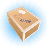 Parcel box Stock Image