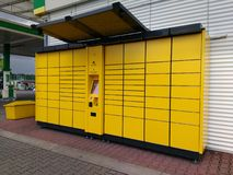 Parcel box Royalty Free Stock Photography