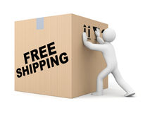 Parcel delivery Royalty Free Stock Images