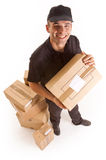 Parcel delivery Stock Image