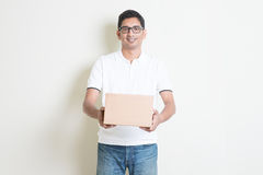 Parcel delivery service Stock Photo