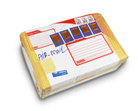 Parcel from far away Royalty Free Stock Photography