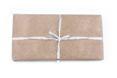 Parcel. The parcel on isolate background royalty free stock images