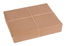 Parcel isolated Stock Images