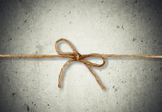 Parcel knot Stock Photography