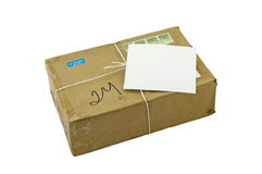 Parcel And Label Stock Photography