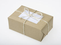 Parcel Ready for Postage Stock Image