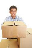 Parcel service Royalty Free Stock Photo