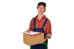 Parcel service Stock Photos