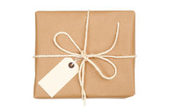 Parcel Tied With String royalty free stock photography
