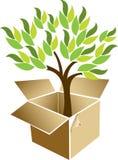 Parcel tree Royalty Free Stock Photos