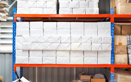 Parcel warehouse Stock Photography