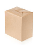 Parcel on white Stock Image