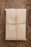 Parcel wrapped Royalty Free Stock Images