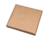 Parcel wrapped with brown paper Royalty Free Stock Images