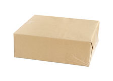 Parcel wrapped Royalty Free Stock Photos