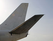 Parcela traseira da fuselagem Foto de Stock