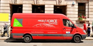 Parcelforce Stock Images