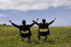 Parceria bem sucedida Imagens de Stock