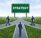 Parceria estratégica Imagens de Stock