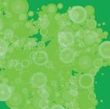 Parcheado verde de la burbuja stock de ilustración