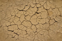 Parched soil during drought and dry season Royalty Free Stock Photography