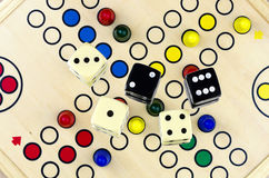 Parcheesi #2 de jeu de société Images libres de droits