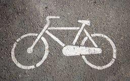 Parcheggiando per le biciclette Fotografia Stock Libera da Diritti