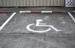 Parcheggiando per qualcuno soltanto Immagine Stock Libera da Diritti