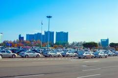 Parcheggio Immagine Stock Libera da Diritti