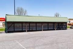 Parcheggio con errori di Amish fotografia stock