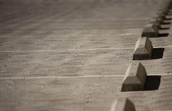 Parcheggio concreto Fotografie Stock