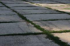 Parcheggio concreto Fotografia Stock