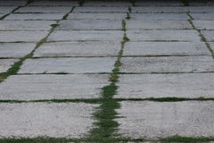 Parcheggio concreto Immagini Stock