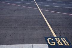 Linee dell'aeroporto Fotografia Stock