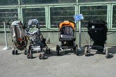 Parcheggio dei passeggiatori Fotografia Stock Libera da Diritti