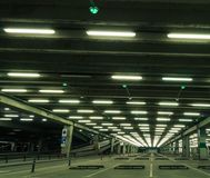 Parcheggio del centro commerciale immagine stock