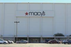Parcheggio del grande magazzino di Macy Fotografia Stock Libera da Diritti