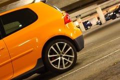 parcheggio del lotto dell'automobile fotografia stock libera da diritti