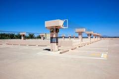 Parcheggio del tetto Immagine Stock