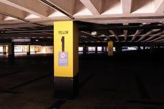 Parcheggio dell'automobile disponibile Fotografia Stock