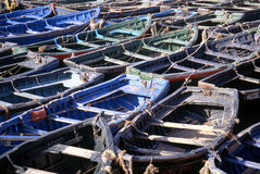 Parcheggio della barca fotografia stock