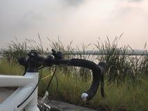 Parcheggio della bici Fotografia Stock