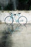 Parcheggio della bici Immagini Stock