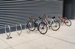 Parcheggio della bici Immagine Stock Libera da Diritti